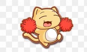 Cheer Cartoon Cat - Cat Cartoon PNG