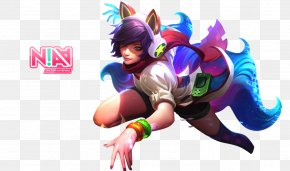 Mobile Legends - League Of Legends Ahri Arcade Game Drawing Riot Games PNG