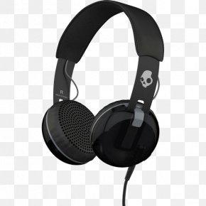 Skull Headphones - Headphones Skullcandy Microphone Headset Phone Connector PNG