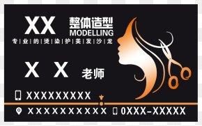 Hairdressing Card - Business Card Hairdresser Visiting Card PNG
