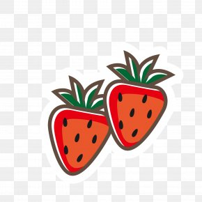 Colorful Strawberry - Strawberry Food Kids' Meal Illustration PNG
