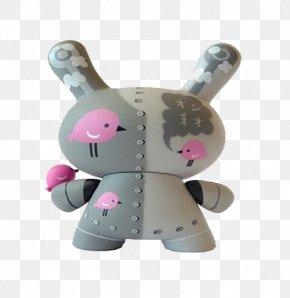 Gray 3d Pattern Rabbit - 3D Computer Graphics Clip Art PNG