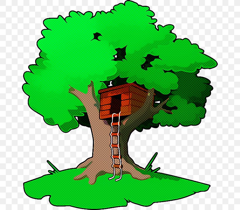 Green Clip Art Tree Plant, PNG, 669x720px, Green, Plant, Tree Download Free