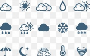 Weather Icon - Weather Euclidean Vector Icon PNG