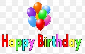 Happy Birthday Balloon Material Free To Pull - Birthday Cake Happy Birthday To You Wish PNG