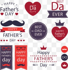 Father's Day Design Elements - Fathers Day Gift PNG