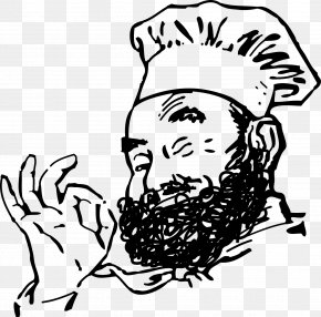 Beard Baker - Chef Beard Clip Art PNG