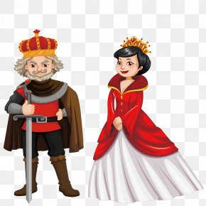 Vector King And Queen - King Monarch Royalty-free Illustration PNG