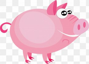 Pig - Pig Farm Animal Puzzles Illustration PNG