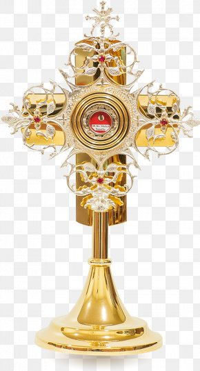 Monstrance Reliquary Cross Relic Jesus, King Of The Jews PNG