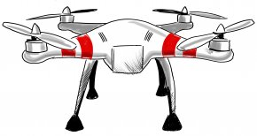 Drones - Aircraft Mavic Pro Drone Strikes In Pakistan Unmanned Aerial Vehicle Cartoon PNG