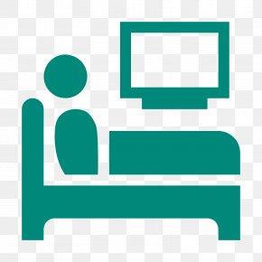 Watching Tv - Symbol Bed Sleep Clip Art PNG