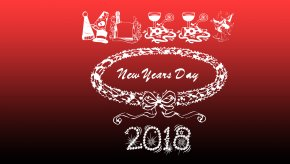 Happy New Year - Desktop Wallpaper New Year's Day Display Resolution PNG