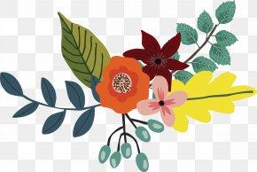 Purple Floral Decoration - Floral Design Flower PNG