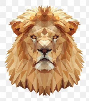 Lions Head - Lions Head Cross-stitch Pattern PNG