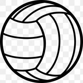 Volleyball Ball - Beach Volleyball Sport Clip Art PNG