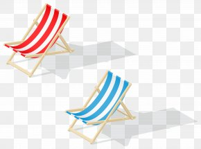 Beach Chairs Transparent Clip Art Image - Chair Beach Clip Art PNG
