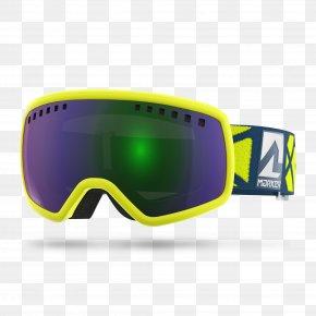 Glasses - Goggles Gafas De Esquí Glasses Skiing Yellow PNG