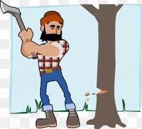 Coal Miner Clipart - Lumberjack Royalty-free Clip Art PNG