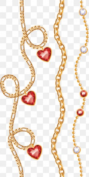 Gold Necklace Three - Necklace Jewellery Gold Fashion Accessory PNG