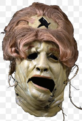 Mask - The Texas Chain Saw Massacre Leatherface The Texas Chainsaw Massacre Mask Costume PNG