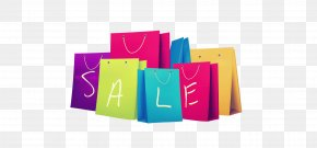 Colored Shopping Bags - Classified Advertising Sales Shopping Bag Price PNG