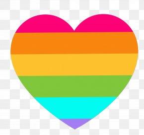 Valentine Rainbow Heart - Rainbow Euclidean Vector Clip Art PNG