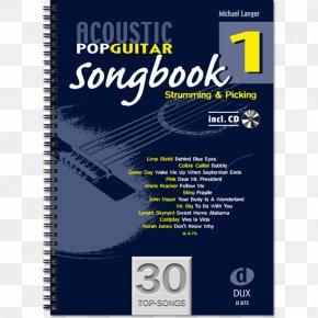 Easy/mediumGuitar - Acoustic Pop Guitar Songbook 2 (mit CD): Strumming & Picking Acoustic Pop Guitar: Einführung In Die Welt Des Fingerstyle. 2 Song Book Acoustic Pop Guitar Solos 3: Noten & TAB PNG