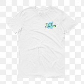 Short Sleeve T Shirt - T-shirt Logo Sleeve Font PNG