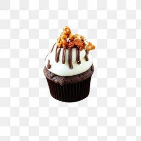 Walnut Chocolate Cake - Cupcake Chocolate Cake Fudge Cake Muffin Cheesecake PNG