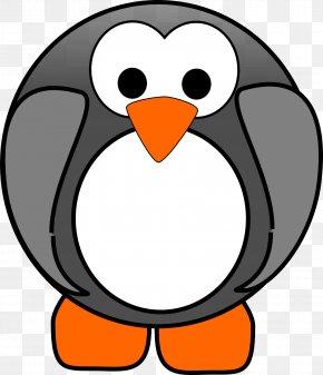 Penguin - Penguin Bird Tux Clip Art PNG