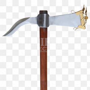 Pickaxe - Splitting Maul Pickaxe Dolabra Hand Tool PNG