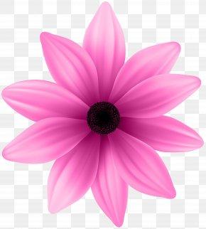 Flower Pink Clip Art Image - Pink Clip Art PNG