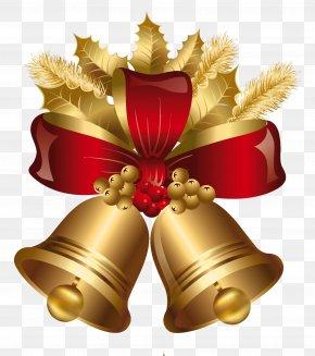 Bells - Christmas Jingle Bell Clip Art PNG