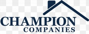 Real Estate Company Logo - The Champion Companies Lewis Center Real Estate Investing House PNG