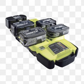 Battery Charger - W/o Battery 18 V Ryobi One+ Battery Charger Power Tool Electric Battery PNG