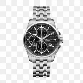 Mido Men's Mechanical Watch - Fender Jazzmaster Hamilton Watch Company Chronograph Swiss Made PNG