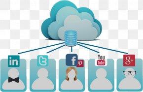 Social Networking Service - Social Media Social Cloud Computing Cloud Storage PNG
