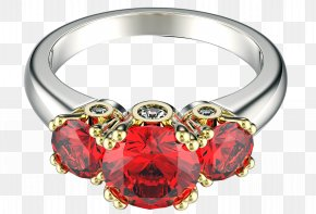 Ruby Ring - Ruby Ring Diamond Jewellery PNG