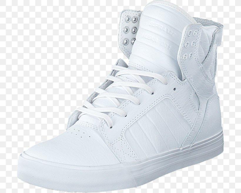 Sneakers Skate Shoe Supra White, PNG