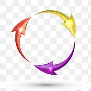 Vector Cycle Arrows - Arrow Circle Clip Art PNG