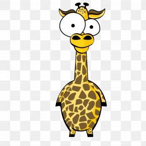 Cartoon Animal Giraffe - Northern Giraffe Cartoon PNG