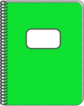 Notebook Transparent Cliparts - Notebook Paper Clip Art PNG