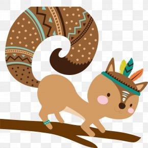 Vector Cartoon Squirrel - Cartoon U52d5u7269u6f2bu753b Comics Illustration PNG