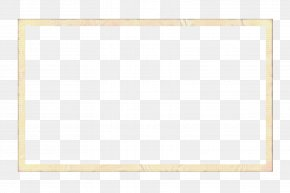 Picture Frame Rectangle - Background Yellow Frame PNG