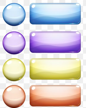 Crystal Button - Button Download Crystal PNG