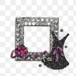 Beautiful Diamond Frame To Pull Material Free - Picture Frames Clip Art PNG