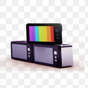 Traditional TV Free To Pull The Material - Television Show Television Set PNG