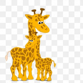Cute Giraffe - Mothers Day Poster Cartoon PNG