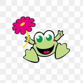 Happy Little Frog - Frog Wedding Invitation Birthday Greeting Card Clip Art PNG